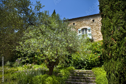 Maison, campagne, jardin, immobilier, campagne
