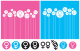Gender Background and Symbol