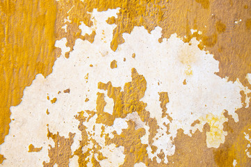color abrasion on the wall