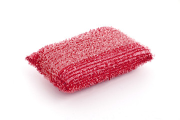 Red Washing Sponge