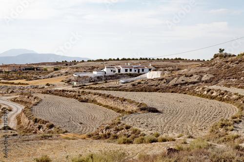 paysage de campagne. Espagne.