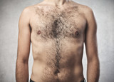 Hairy chest poster