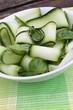 zucchinisalad with basil