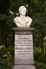 König Johann von Sachsen auf der Festung Königstein