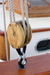 classic yacht block and tackle