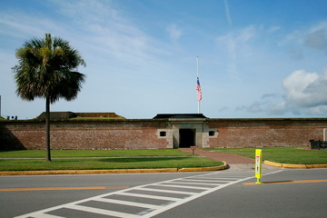 Fort Moultrie, Sullivan's Island in South Carolina