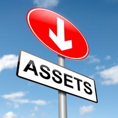 Assets concept.
