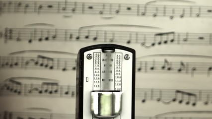 classical music and metronome