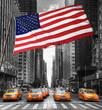 Fototapeten,taxi,taxi,gelb,york