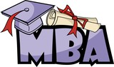 MBA (Master of Business Administration) - university degree poster