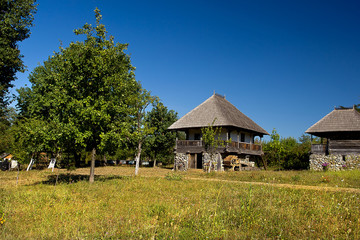 Traditional rural houses – Gorj