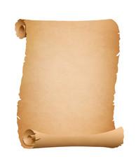 alte gerissene Schriftrolle - Vektorelement