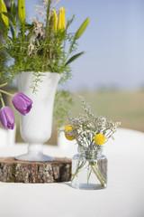 Sunny Flower Arrangements