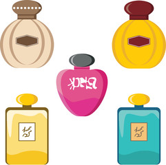 Perfumery set
