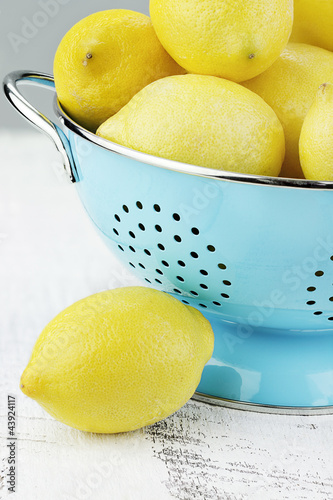 Lemons in Blue