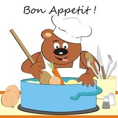 Bear - cook