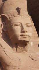 Head of Ramses II, Abu Simbel