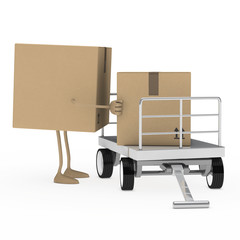 package figure load trolley