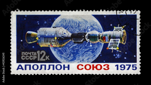 experimental flight of Soyuz and Apollo, USSR - USA 1975