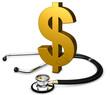 Stethoskop mit Dollar