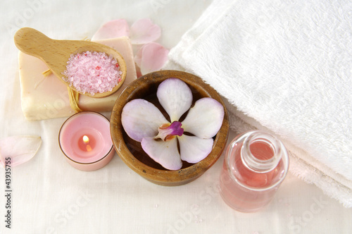 health spa setting