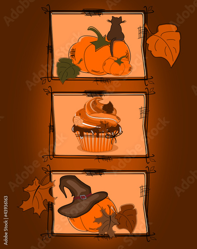 Cupcakes, Halloween Party
