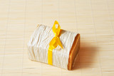 soap with yellow ribbon