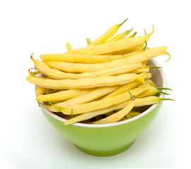 yellow kidney beans in a bowl