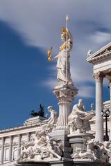 Österreichisches Parlament mit Pallas Athene