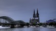 Time lapse Cologne Cathedral Sunset