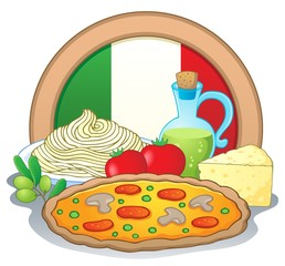 Italian food theme image 1