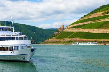 riverboat on Rhein - Germany