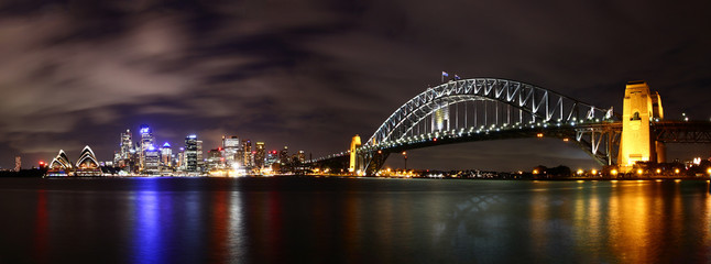 City at night (Sydney, Australia)
