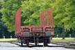 Güterwaggon - Eisenbahnverkehr
