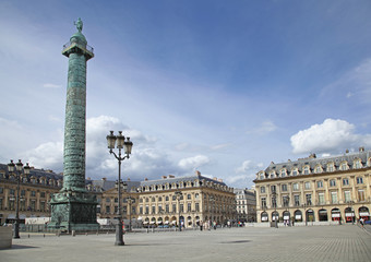 place vendôme à Paris