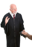 Judge - Swearing In poster