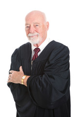 Handsome Mature Judge