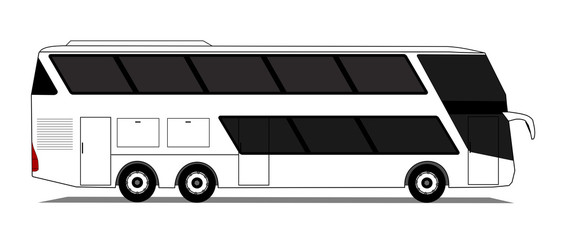 Doubledecker coach bus