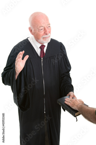 Judge - Swearing In
