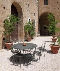 italian backyard, Europe
