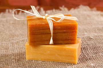 natural flavored handmade soaps