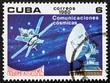 Postage stamp Cuba 1980 Satellite Communications, Intercosmos