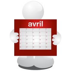 planning avril