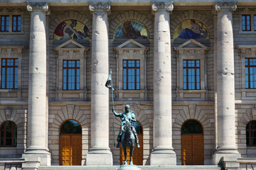 "The historic government ""Staatskanzlei "" in Munich in Bavaria"