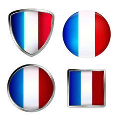 france flag icon set