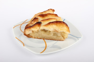 Porcion tarta de manzana