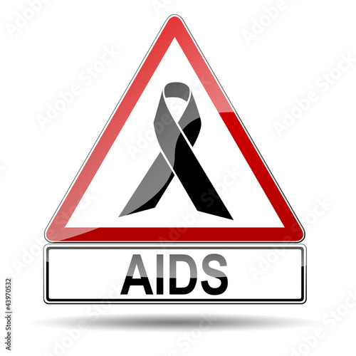 Señal advertencia AIDS
