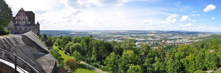 Blick von der Veste auf Coburg
