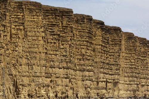 Jurassic coast cliffs Poster