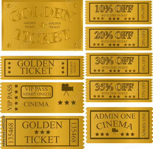GOLD TICKET